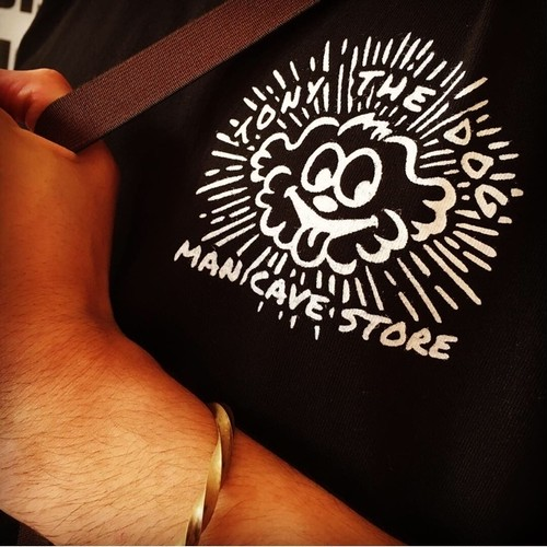 [2018]MCS WORKS Co.「TONY THE DOG」 Tシャツ