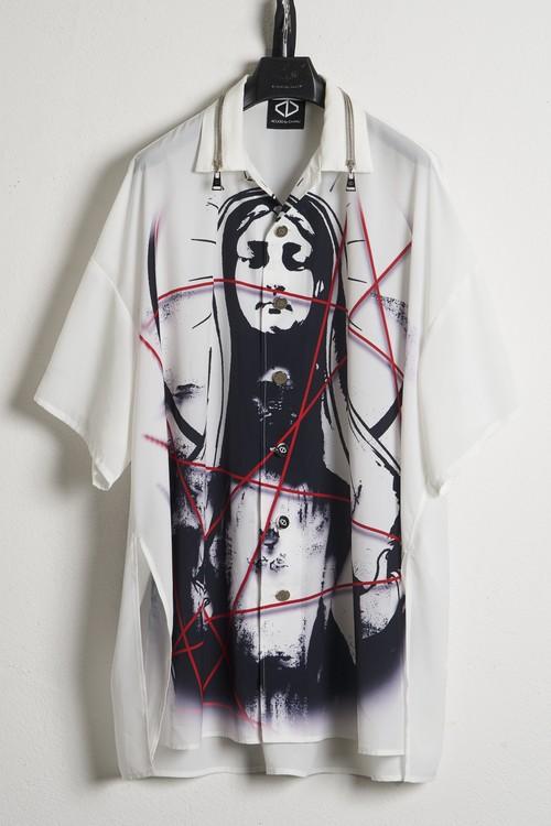 Over Aloha Shirts-Maria / White [21SS COLLECTION]