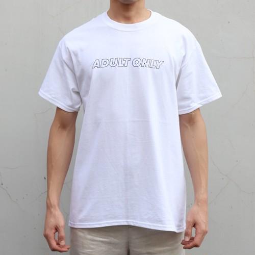 ADULT TEE(WHITE)