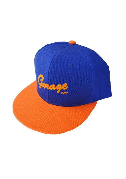Authentic Bic Logo cap Blue/Orange