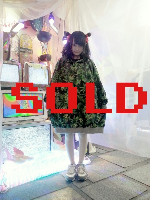 【再入荷】マリファナXXXXXLパーカー/HOMELESSPARTY.