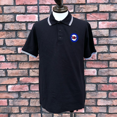 Deadstock 5.15 The Who Polo Shirt Fruit Of The Loom Medium