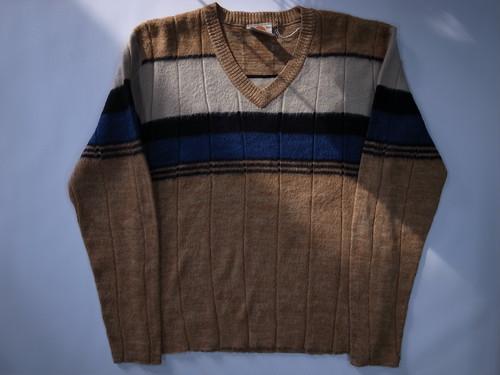 ビンテージ Vネック モヘアセーター SATURDAY'S V-NECK Mohair Sweater