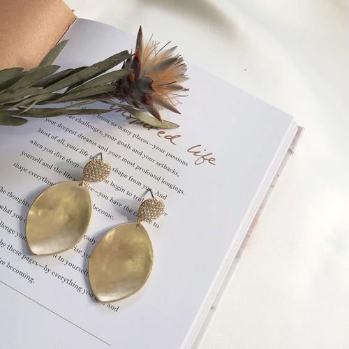 【LA collection】leaf pierce