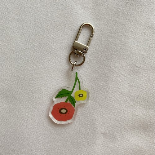 FLOWER (key ring)