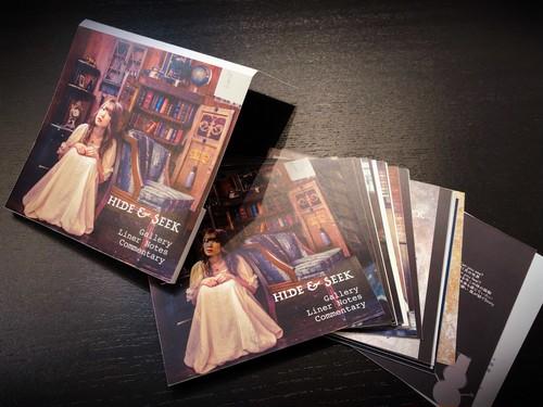 HIDE&SEEK ギャラリー&ライナーノーツ・コメンタリー【印刷版】