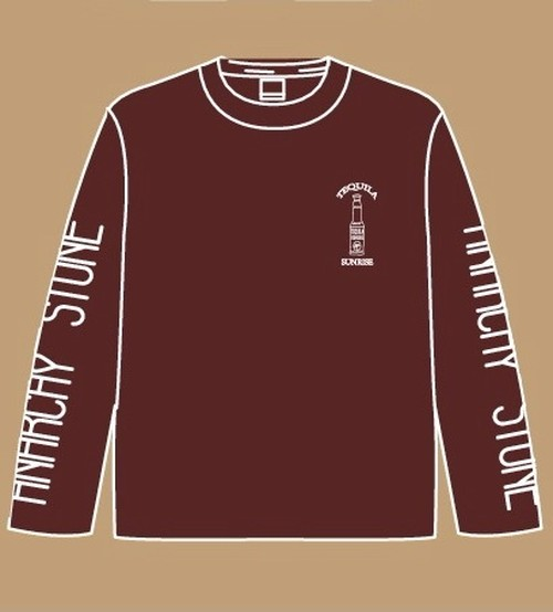 TEQUILA SUNRISE ロンT WINE RED 【L size】