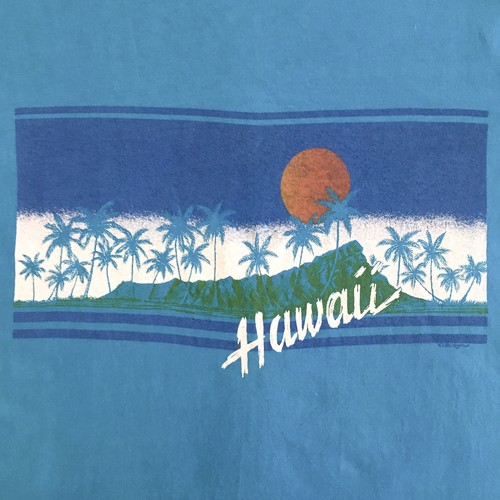 Hawaii old Print S/S Tee <Deadstock>