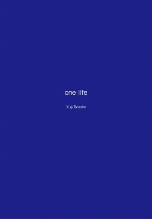 【グッズ】 photo essay  one life