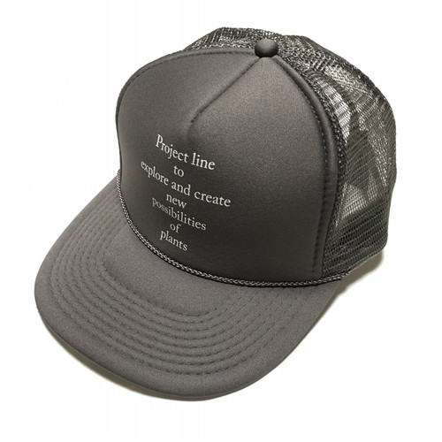 Botanique de TAVERN Plants Work Mesh Cap -charcoal < LSD-BTAC1 >