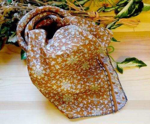 saris-014 【新価格】シルクサリー スクエアショール