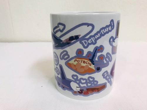 【受注生産】shino design/大型機ちゃんマグカップ