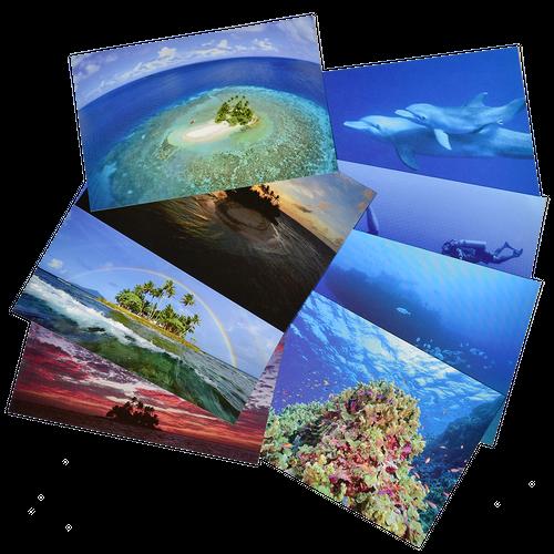 ジープ島オリジナルポストカードセット