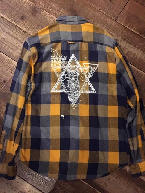 『gift』ネルシャツ size L 1点物