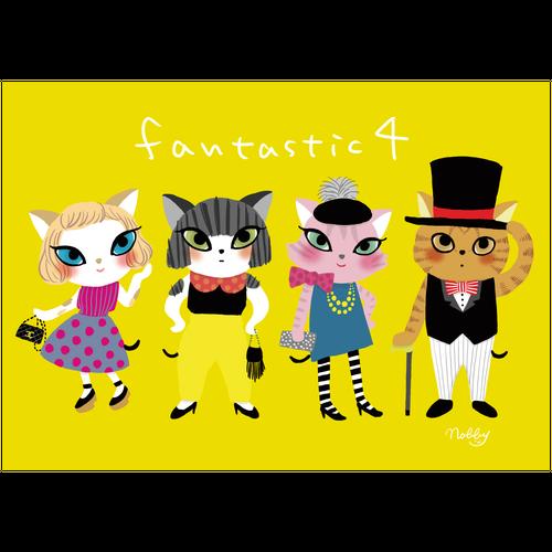 A2ポスター「fantastic4」
