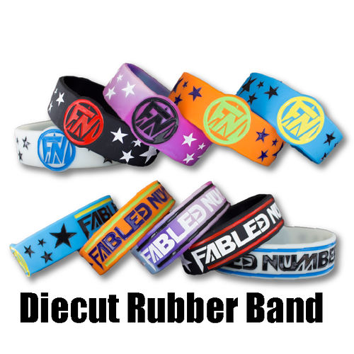 Diecut Rubber Band