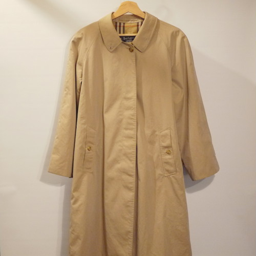 "Vintage Burberrys Balmacaan Coat Size14 REG ""Made in England,100%Cotton"""