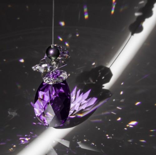 【蠍座】月の女神のシャンデリア(バイオレット)