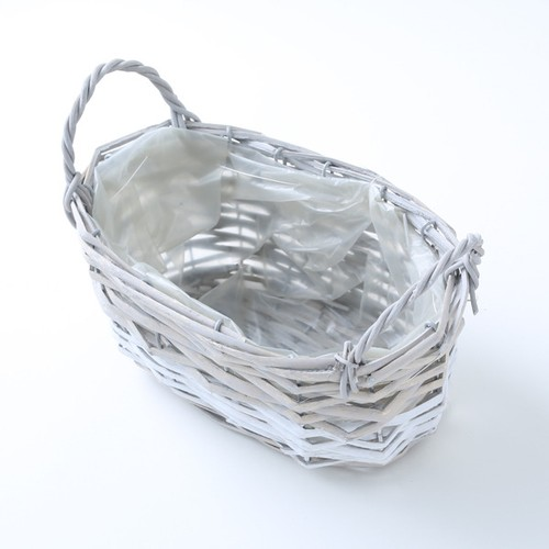 LINE BASKET S(OVAL/WHITE)