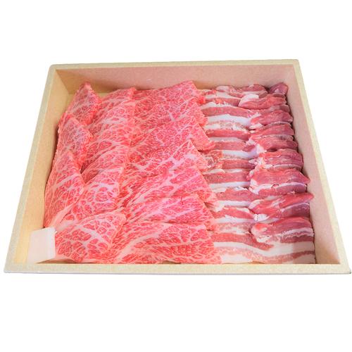 和牛と埼玉県産豚肉 焼肉食べ比べセット(本州送料込) K-45