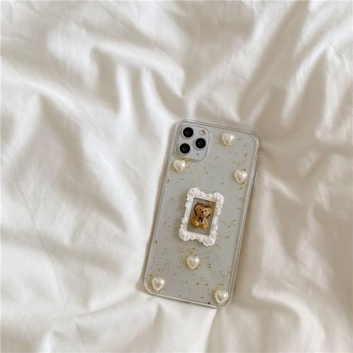 antique bear iPhone case