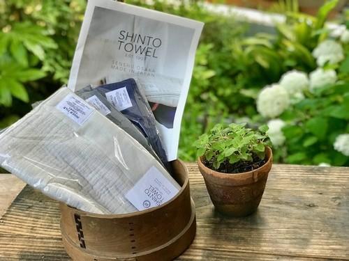 SHINTO TOWEL INNER PILE インナーパイル フェイスタオル