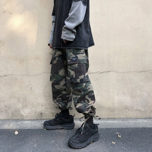 【FAST】裾ドロストカーゴパンツ #BL5107