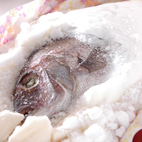 愛媛県由良 ゆら鯛の塩釜