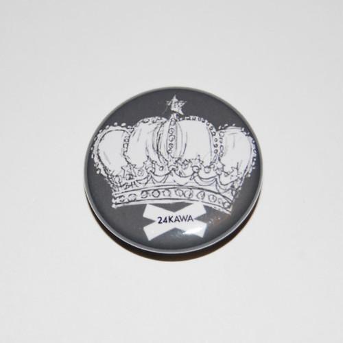 Crown Button Badges