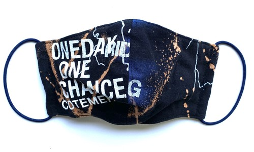 【COTEMER マスク 日本製】ONE DAY ONE CHANCE BAND × BLEACH MASK 0429-121