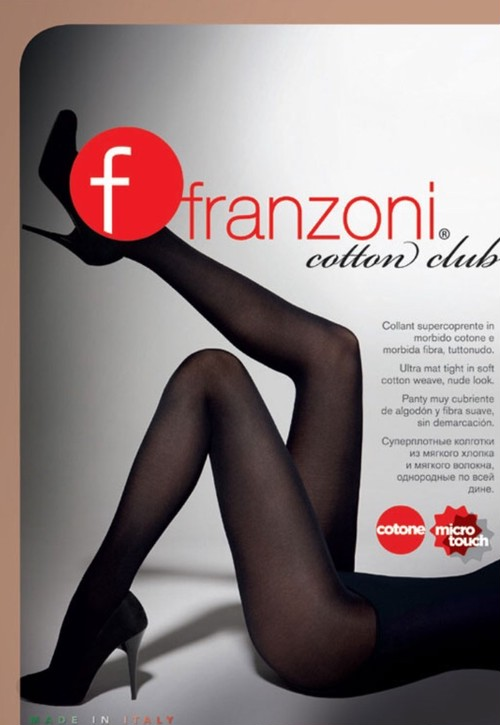 COTTON CLUB  60デニール   コットンタイツ! コットン45%配合  肌に優しいタイツ。