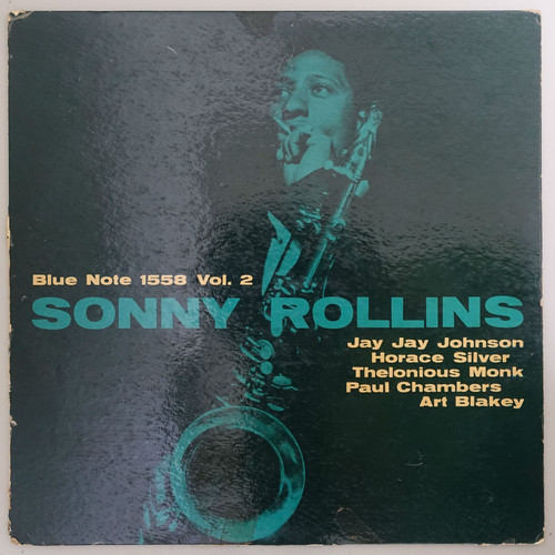 SONNY ROLLINS / VOLUME 2 47WEST63RDラベル R,INC無
