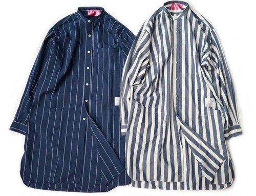 EFFECTEN(エフェクテン) typewriter cloth long shirts