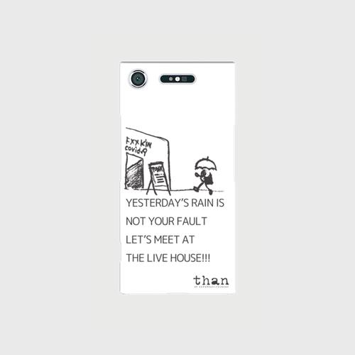 Xperia XZ1(SO-01K/SOV36)対応【than / LET'S MEET AT THE LIVE HOUSE!!!】than original phone case