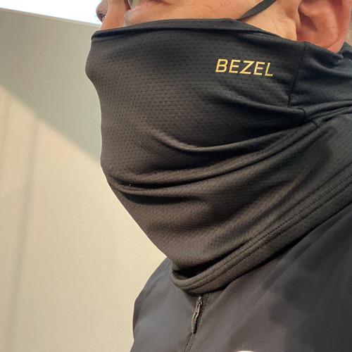 BEZELオリジナルスポーツマスク(冷感、UVカット、飛沫防止)