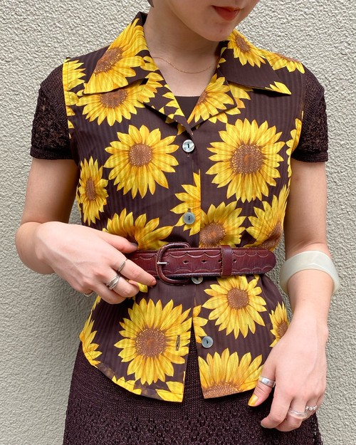 (PAL) sunflower n/s shirt