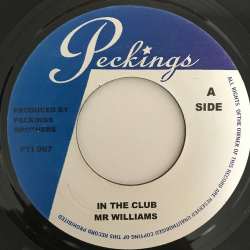 Mr Williams - In The Club【7-10864】