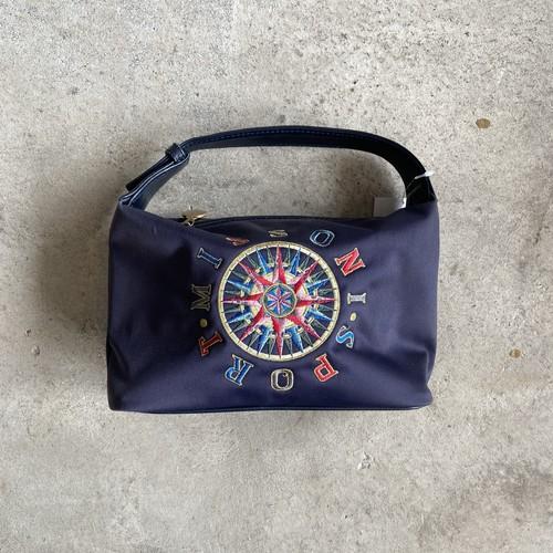 MISSONI SPORT 刺繍ハンドバッグ