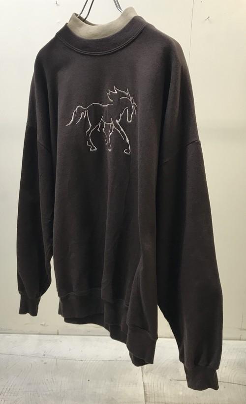 1980s HORSE SWEATSHIRT