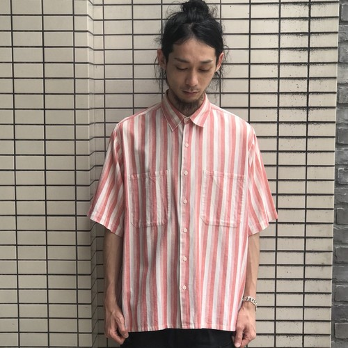 USED STRIPE S/S SHIRTS