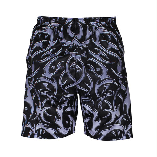 【SOWET】TRIBAL BLACK SHORT