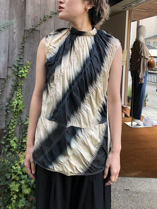 【20AW】3.1Phillip Lim スリーワンフィリップリム /  tie-dye silk-blend sleeveless top