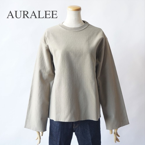 AURALEE/オーラリー ・SUPER MILLED SWEAT CUT-OFF P/O