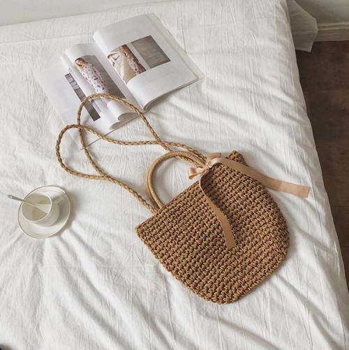 【お取り寄せ商品】natural shoulder hand bag 6765