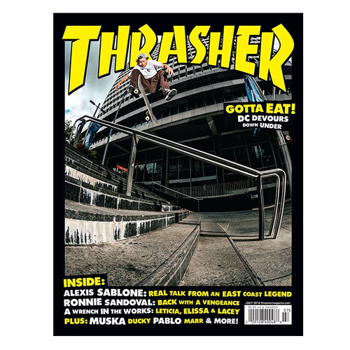 THRASHER - July 2019. Issue 468