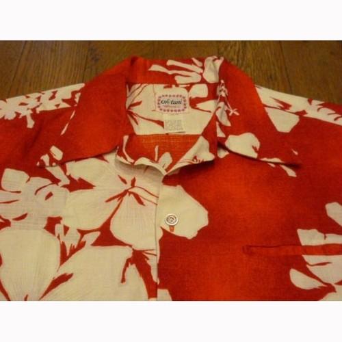 oh-tani Hawaii の 70年代製 アロハシャツ