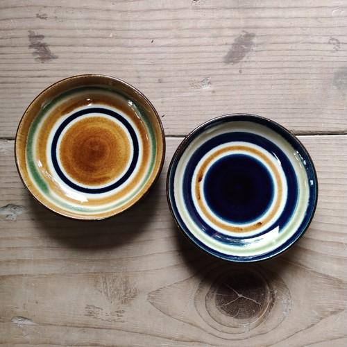 4寸皿一枚焼き/輪描き