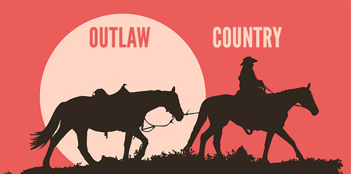 「Outlaw Country Tribute」鑑賞チケット(1500円)