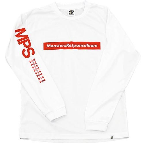 速乾ロングスリーブTシャツ(ホワイト)
