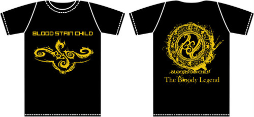 """BLOOD STAIN CHILD """"THE LEGEND"""" T-shirts"""